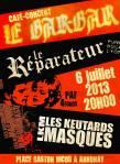 Concert Punk Rock au Barbar (Annonay, Ardèche) le 6 juillet 2013