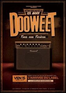 Le lancement du label Dooweet Records prévu pour le 15 mars