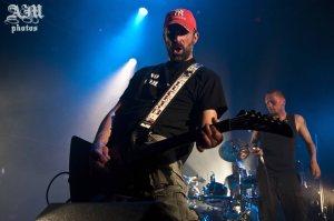 Alex, guitariste. Concert à Bourgoin-Jallieu, le 17 mai 2014.